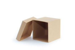 Empty Box Stock Image