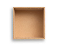 Empty box. Royalty Free Stock Images