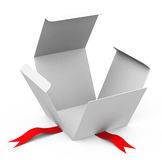 The empty box Royalty Free Stock Images
