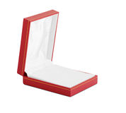 Empty box for jewelr Stock Photography