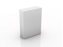 Empty box template Royalty Free Stock Image