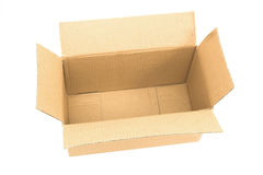 Empty box top view Royalty Free Stock Photography