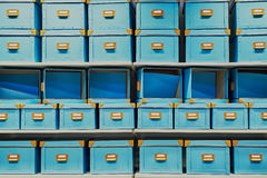 Empty boxes Royalty Free Stock Image