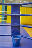Empty boxing ring abstraction Stock Photos