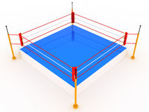 Empty boxing ring #4 Stock Image