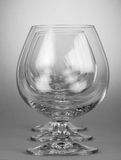 Empty brandy glasses Stock Image