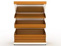 Empty bread rack  №3 Stock Photo