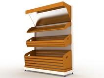 Empty bread rack №2 Stock Images