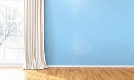 Empty bright interior . 3D render Royalty Free Stock Photos