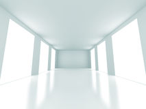 Empty Bright Light Room Interior Architecture Background Royalty Free Stock Image