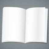 Empty brochure design template Stock Photography
