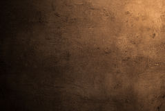 Empty brown concrete surface texture Royalty Free Stock Images