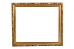 Empty brown frame Stock Photo