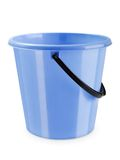 Empty bucket isolated Stock Photography