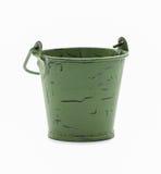 Empty bucket isolated Stock Photos