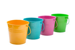 Empty bucket Royalty Free Stock Photography
