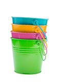 Empty bucket Stock Photography