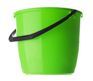 Empty bucket isolated on white background Stock Images