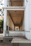 Empty building in the center of Maputo Royalty Free Stock Image