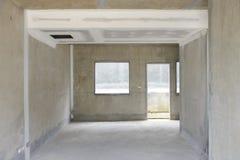 Empty building interior room. Empty building interior domestic room Royalty Free Stock Images