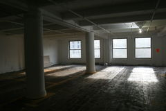 Empty building space Royalty Free Stock Image