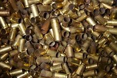 Empty Bullet Shells Royalty Free Stock Photos
