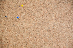 Empty bulletin board, cork board Royalty Free Stock Photo