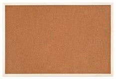 Empty Bulletin Cork Board In White Frame Stock Images