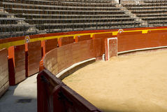 Empty bullring. In valencia, spain royalty free stock images