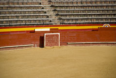 Empty bullring. In valencia, spain Stock Photos
