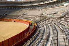 Empty bullring. In valencia, spain Royalty Free Stock Photos