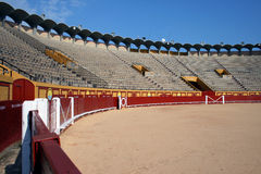 Empty bullring Royalty Free Stock Images