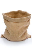Empty burlap sack Royalty Free Stock Photo