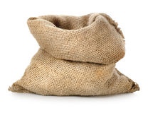 Empty burlap sack Royalty Free Stock Images