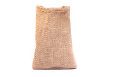 Empty burlap sack Royalty Free Stock Image