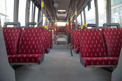 Empty bus Stock Photos