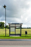 Empty Bus Stop royalty free stock photos