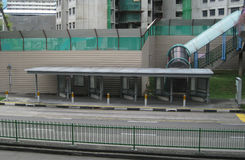 Free Empty Bus Stop Stock Photo - 76460440