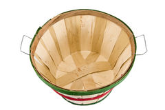 Empty Bushel Basket Overview Shot Stock Photos
