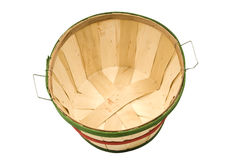 Empty Bushel Basket Revised Royalty Free Stock Photos