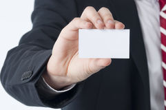 Empty business card Royalty Free Stock Photo