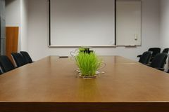 Empty business conference room Royalty Free Stock Photo