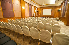 Empty business conference room interior Royalty Free Stock Photos