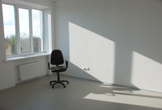 Empty business room and chair Stock Photos