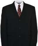 Empty Business Suit, Tie Isolated Stock Images