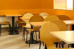 Empty cafe interior Stock Photography