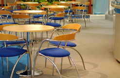 Empty cafe interior Royalty Free Stock Images