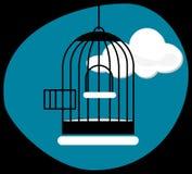Empty cage Royalty Free Stock Photo