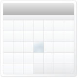 Empty calendar design. For your application Royalty Free Stock Photo