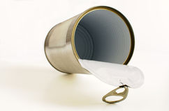 Empty can Royalty Free Stock Photo